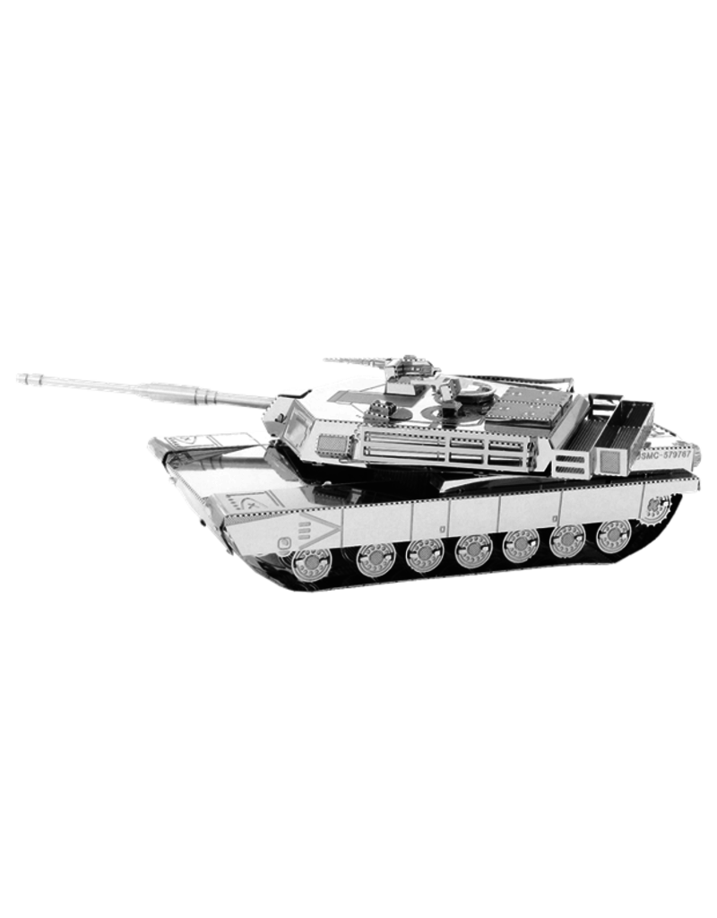 FASCINATIONS M1 Abrams Tank Metal Earth