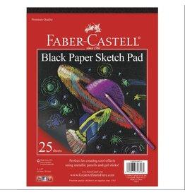 "CREATIVITY FOR KIDS Black Paper Sketch Pad 9"" x 12"