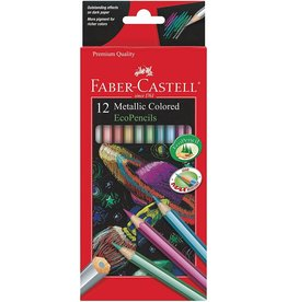 CREATIVITY FOR KIDS 12ct Metallic Colored EcoPencils