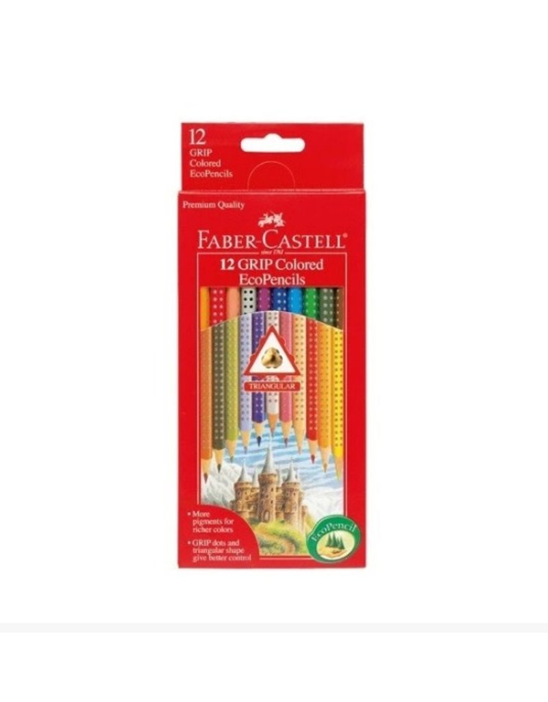 CREATIVITY FOR KIDS 12ct GRIP Colored EcoPencils