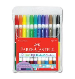 CREATIVITY FOR KIDS 12ct DuoTip Washable Markers
