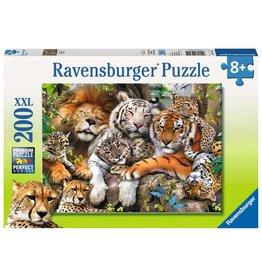 RAVENSBURGER Big Cat Nap 200PC