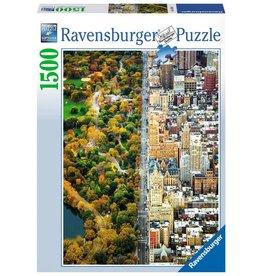 RAVENSBURGER Divided Town 1500PC