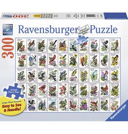 RAVENSBURGER 50 Bird Stamps LF300PC
