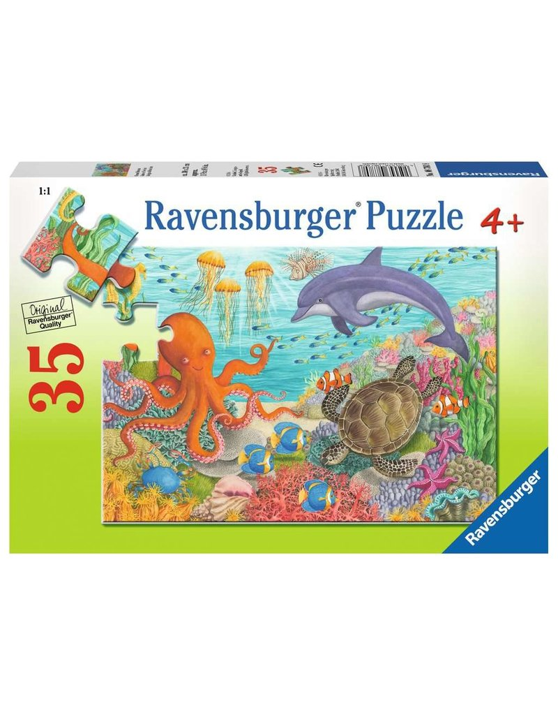 RAVENSBURGER Ocean Friends 35PC