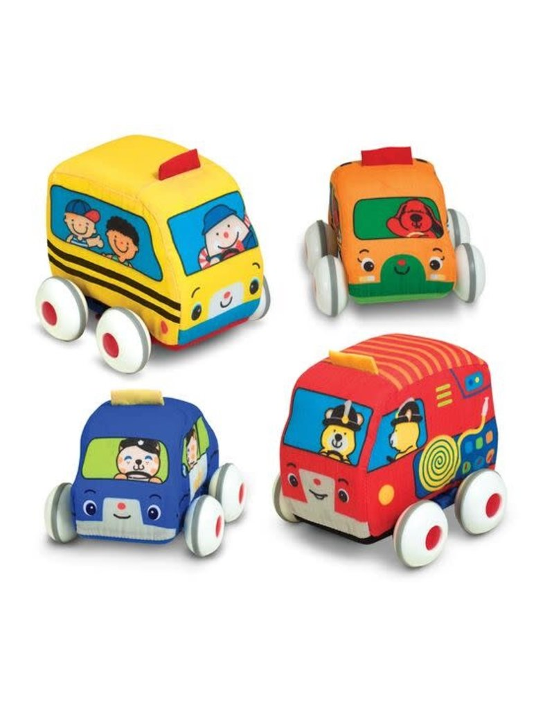 MELISSA & DOUG Pull-Back Vehicles