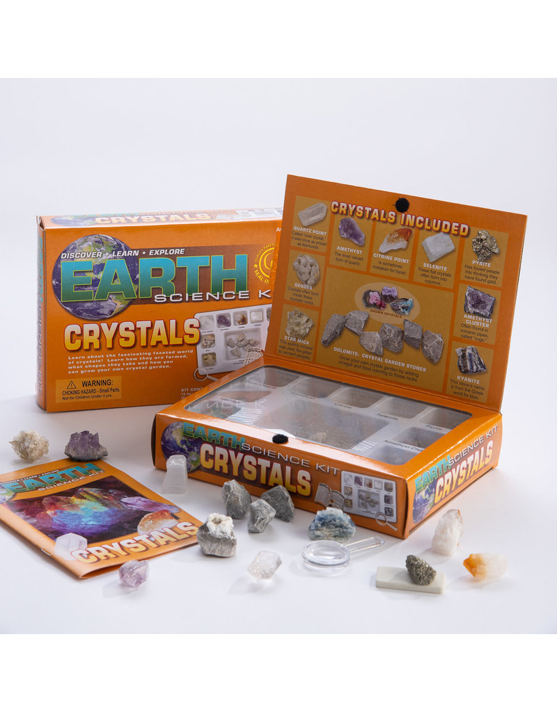 GEOCENTRAL EARTH CRYSTALS SCIENCE KIT 6/U