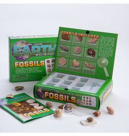 GEOCENTRAL EARTH FOSSILS SCIENCE KIT