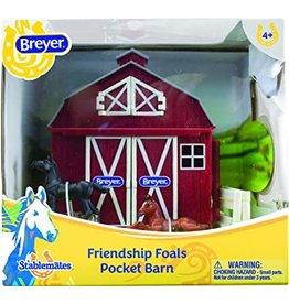 REEVES Friendship Foals Pocket Barn - NEW
