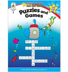 CARSON DELLOSA PUZZLES AND GAMES 2