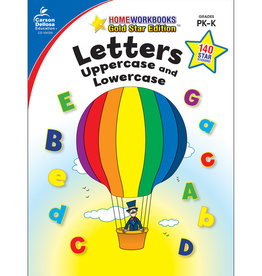 CARSON DELLOSA LETTERS UPPER AND LOWERCASE