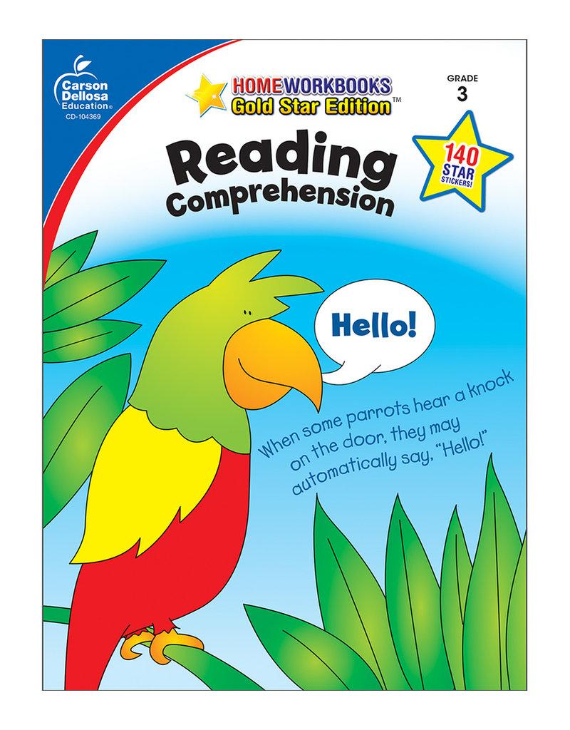 CARSON DELLOSA READING COMPREHENSION GR 3