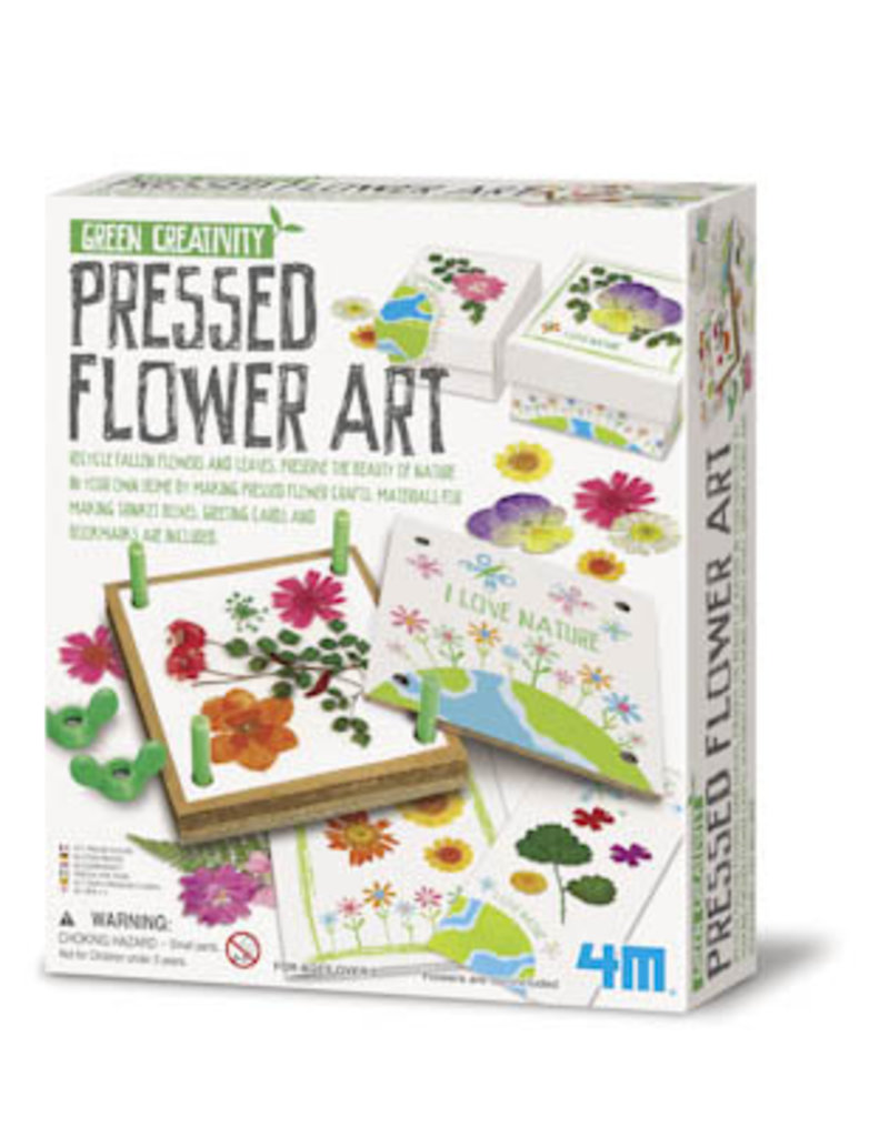 TOYSMITH PRESSED FLOWER ART