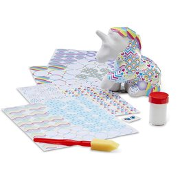 MELISSA & DOUG Unicorn DECOUPAGE