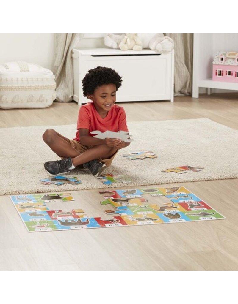 MELISSA & DOUG Animal Alphabet Floor Puzzle (24 pc)