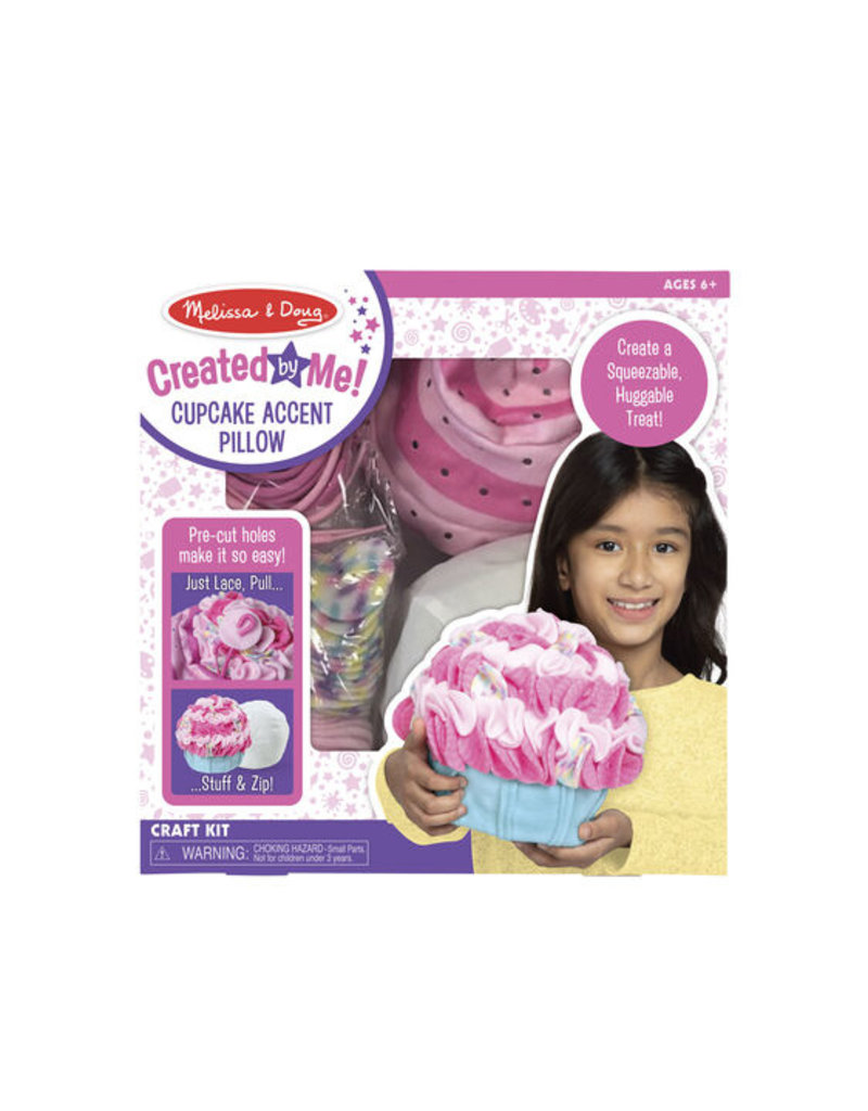 MELISSA & DOUG Cupcake Accent Pillow