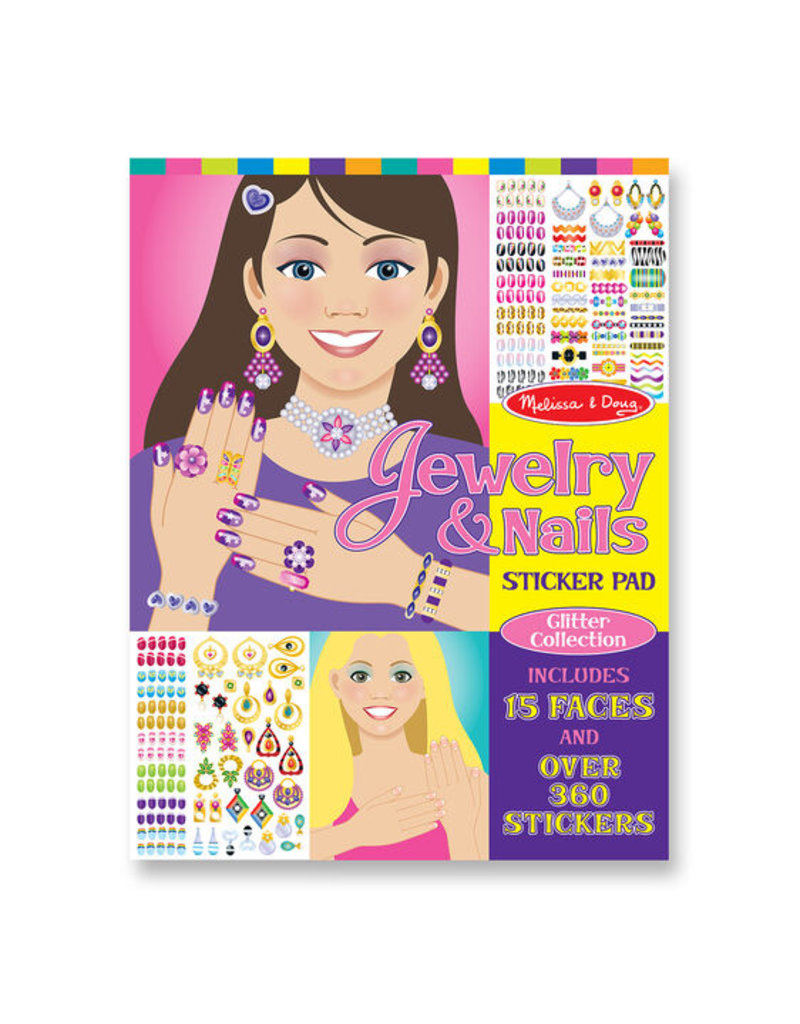 MELISSA & DOUG JEWELRY AND NAILS COLLECTION