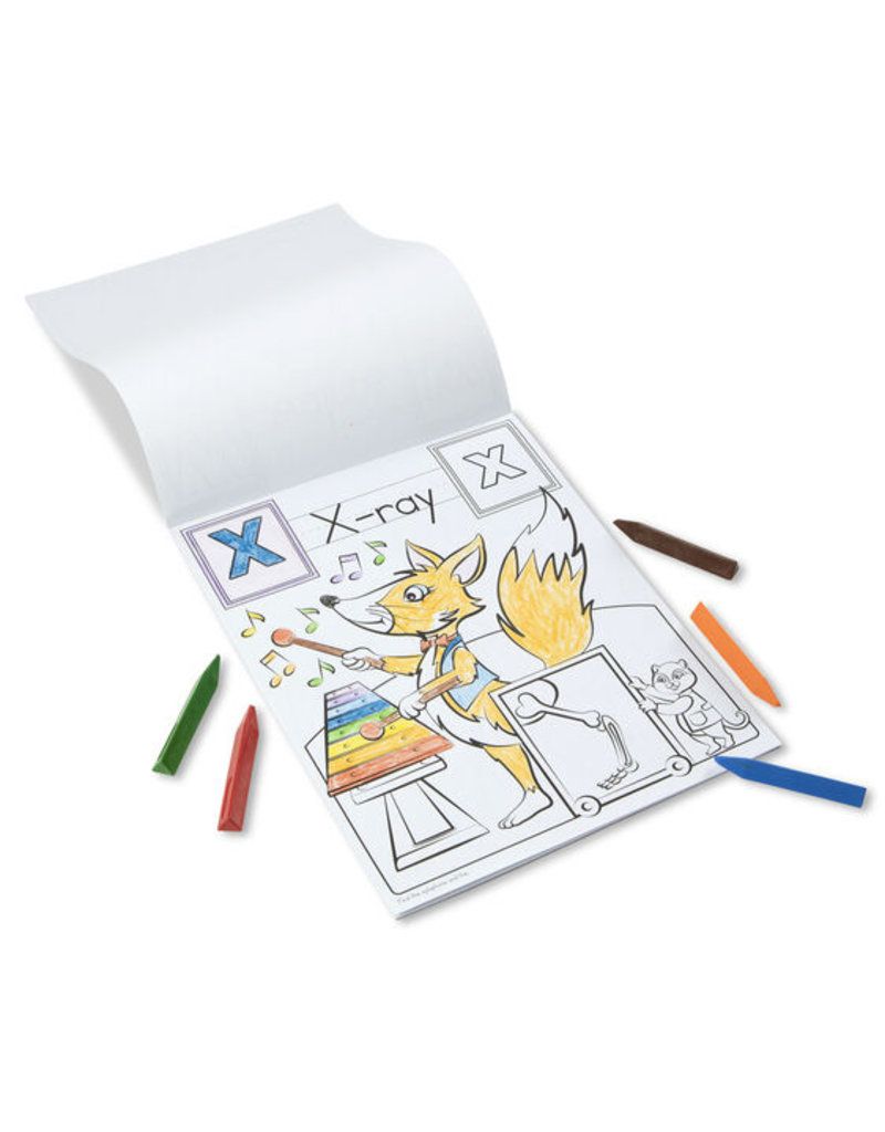 MELISSA & DOUG Animal Alphabet Coloring Pads