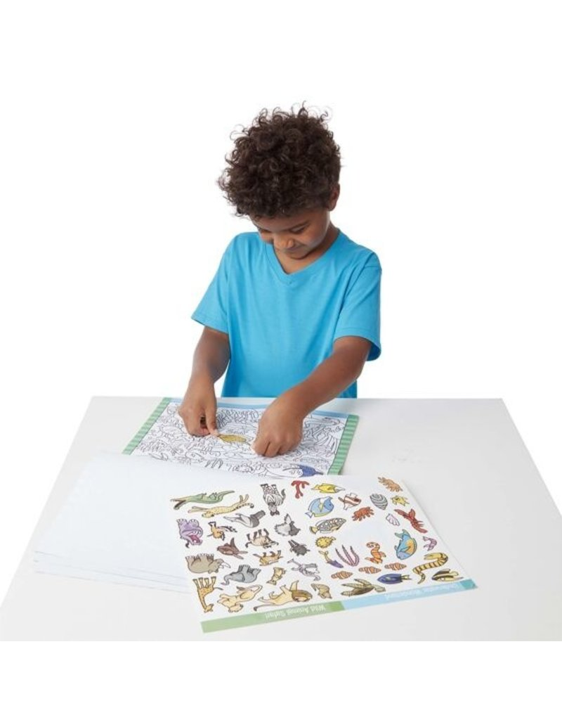 MELISSA & DOUG Animals Seek and Find Sticker Pads