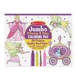 MELISSA & DOUG PRINCESS AND FAIRY JUMBO COLO