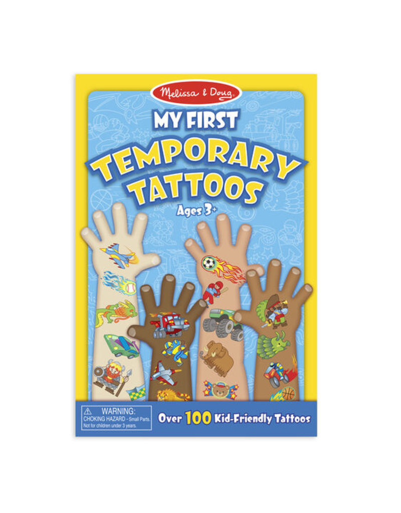 MELISSA & DOUG BLUE FIRST TATTOOS