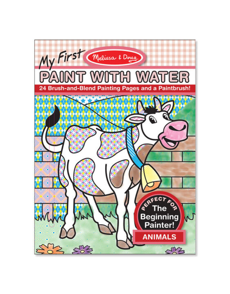 MELISSA & DOUG Animals My First Paint with Water