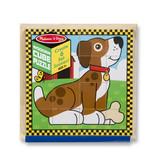 MELISSA & DOUG PETS CUBE PUZZLE 3+