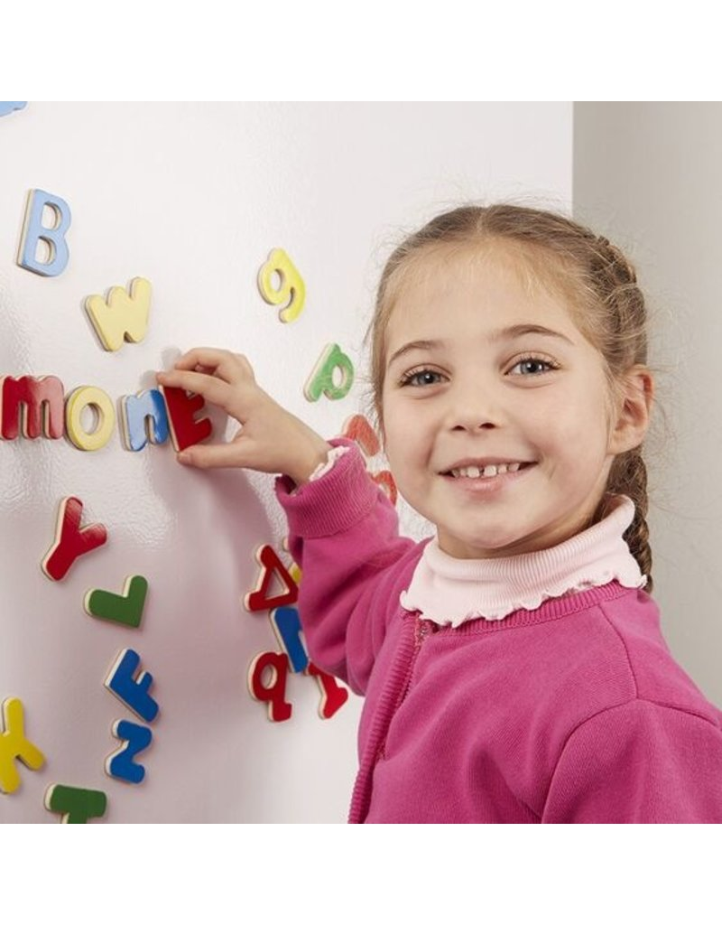 MELISSA & DOUG ALPHABET MAGNETIC WOODEN 3+