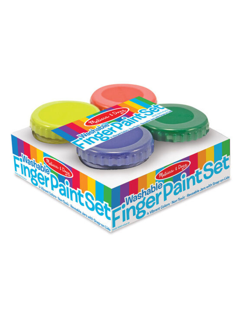 MELISSA & DOUG Finger Paint Set (4 colors)