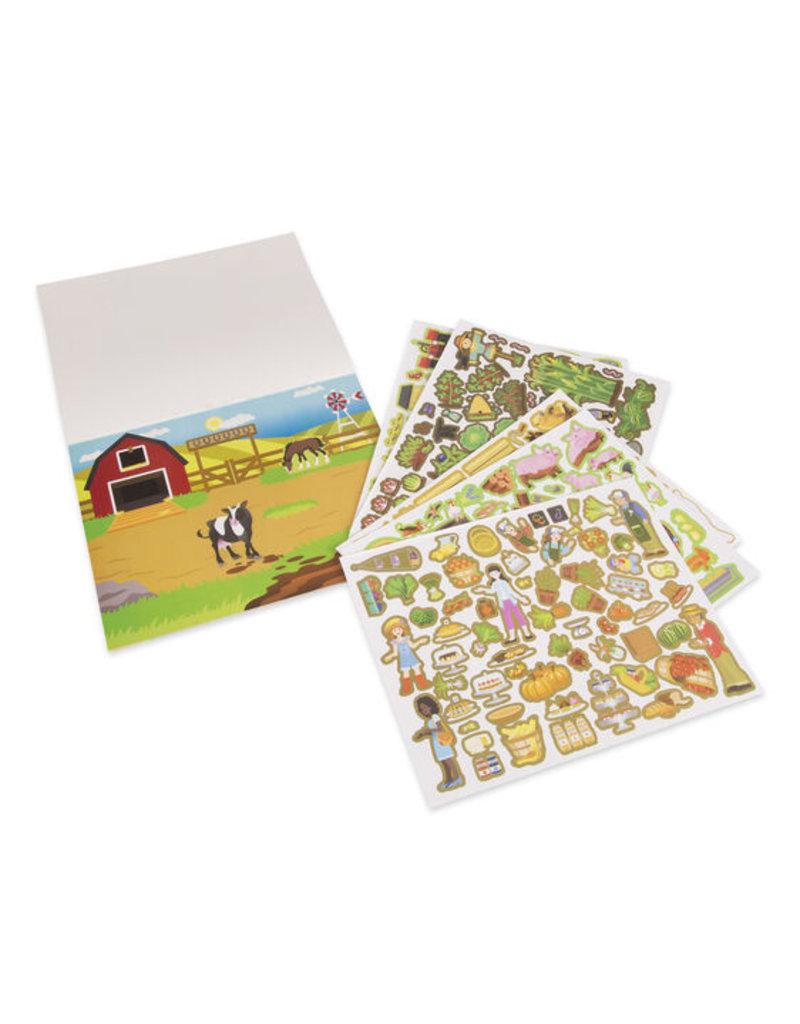 MELISSA & DOUG Farm Reusable Sticker Pad