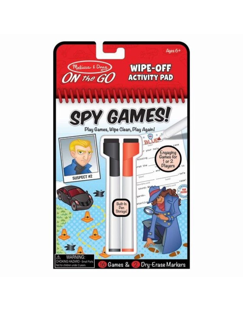MELISSA & DOUG Spy Games!