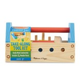 MELISSA & DOUG TAKE ALONG TOOL KIT 3+