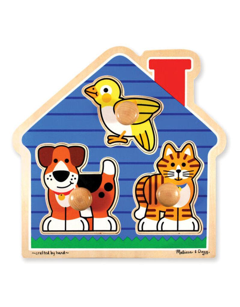 MELISSA & DOUG HOUSE PETS JUMBO KNOB 12m+