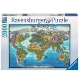 RAVENSBURGER World Map 2000PC