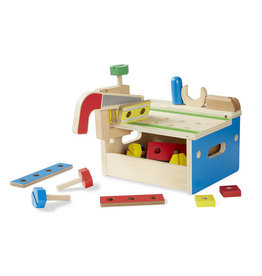 MELISSA & DOUG Hammer and Saw Tool Bench