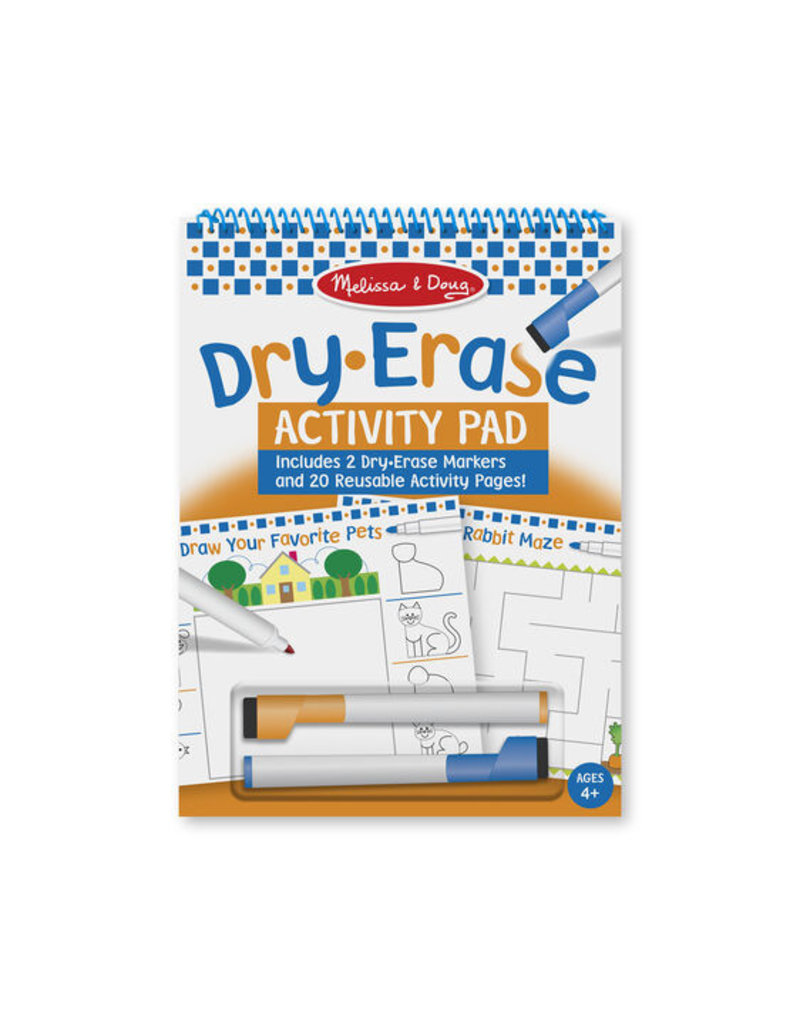 MELISSA & DOUG Dry-Erase Activity Pad