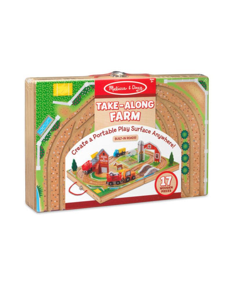 MELISSA & DOUG FARM TAKE ALONG