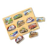 MELISSA & DOUG VEHICLE SOUND PUZZLE 2+