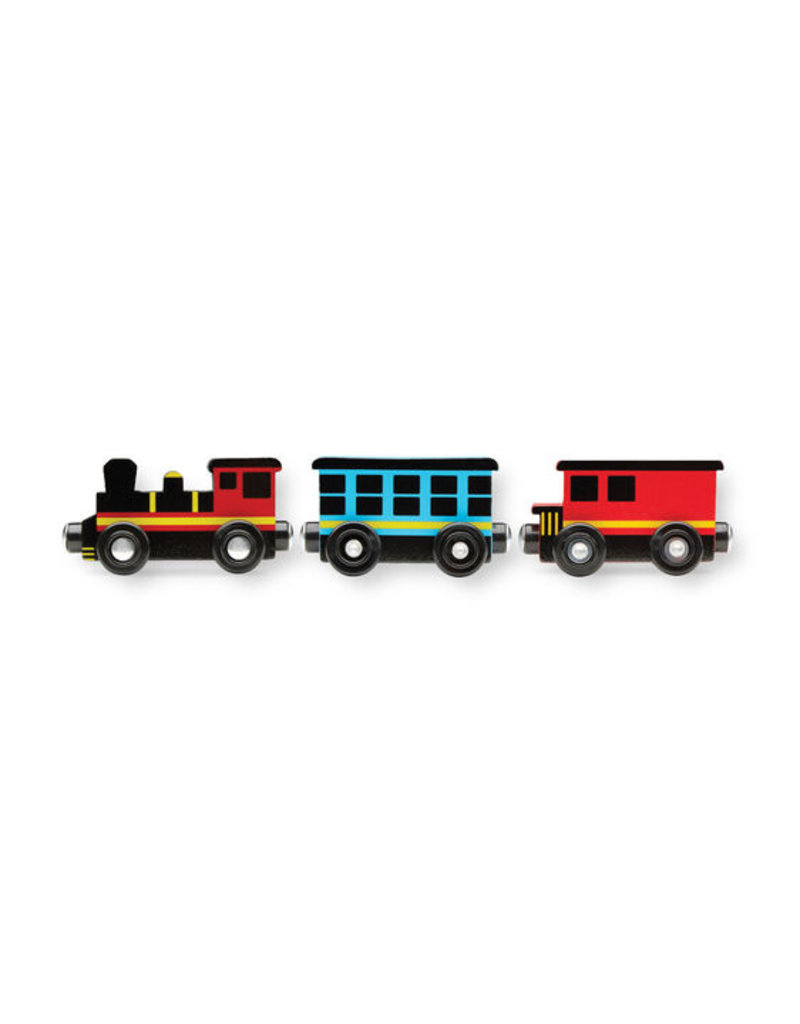 MELISSA & DOUG Round the Rails Train Rug
