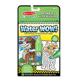 MELISSA & DOUG Pet Mazes Water Wow!