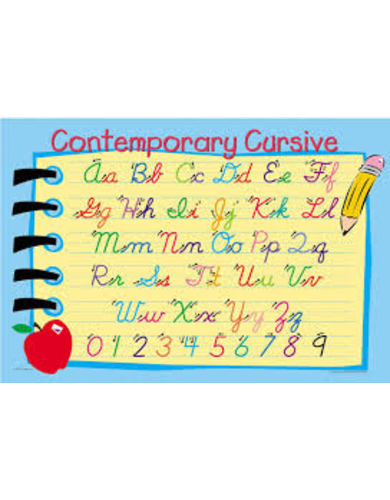 M RUSKIN CONTEMPORARY CURSIVE PLACEMAT