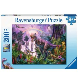 RAVENSBURGER KING OF THE DINOSAURS 200PC