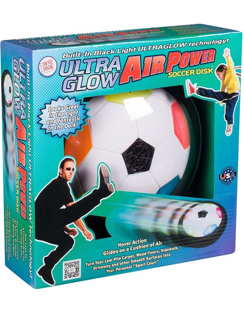 TOYSMITH ULTRA GLOW AIR POWER SOCCER DISC