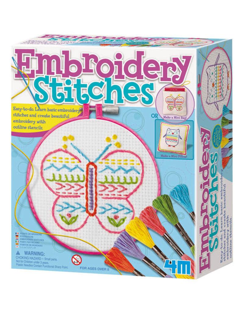 TOYSMITH Embroidery Stitches