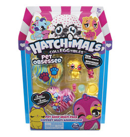 TOYSMITH PET OBSESSED MULTI PK HATCHIMALS