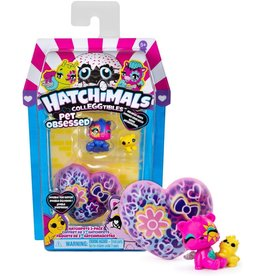 TOYSMITH PET OBSESSED 2PK HATCHIMALS