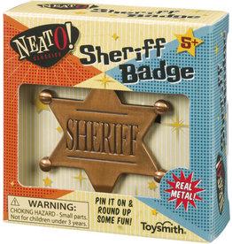 TOYSMITH SHERIFF BADGE