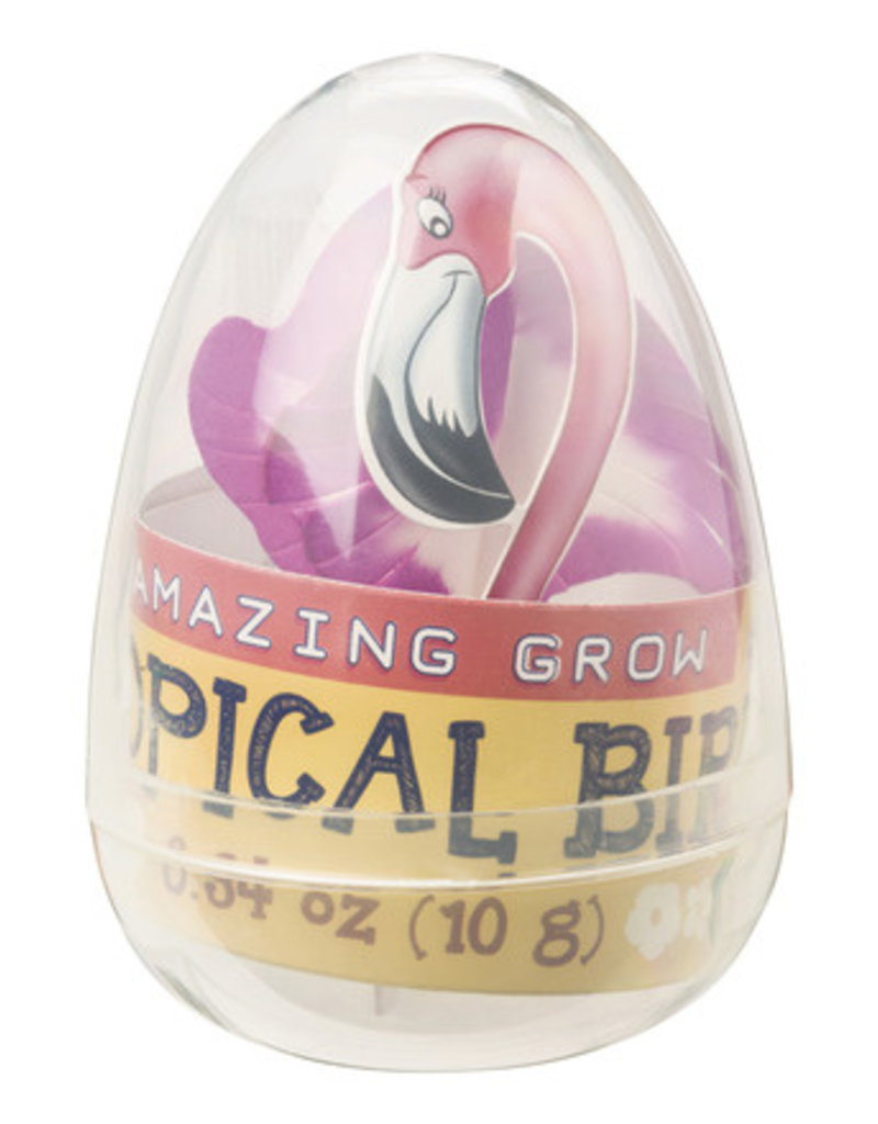 TOYSMITH TROPICAL BIRD CRYSTAL GROW