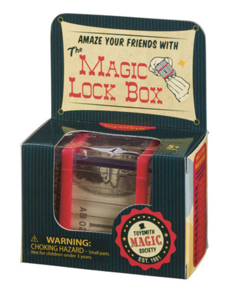 TOYSMITH Magic Lock Box