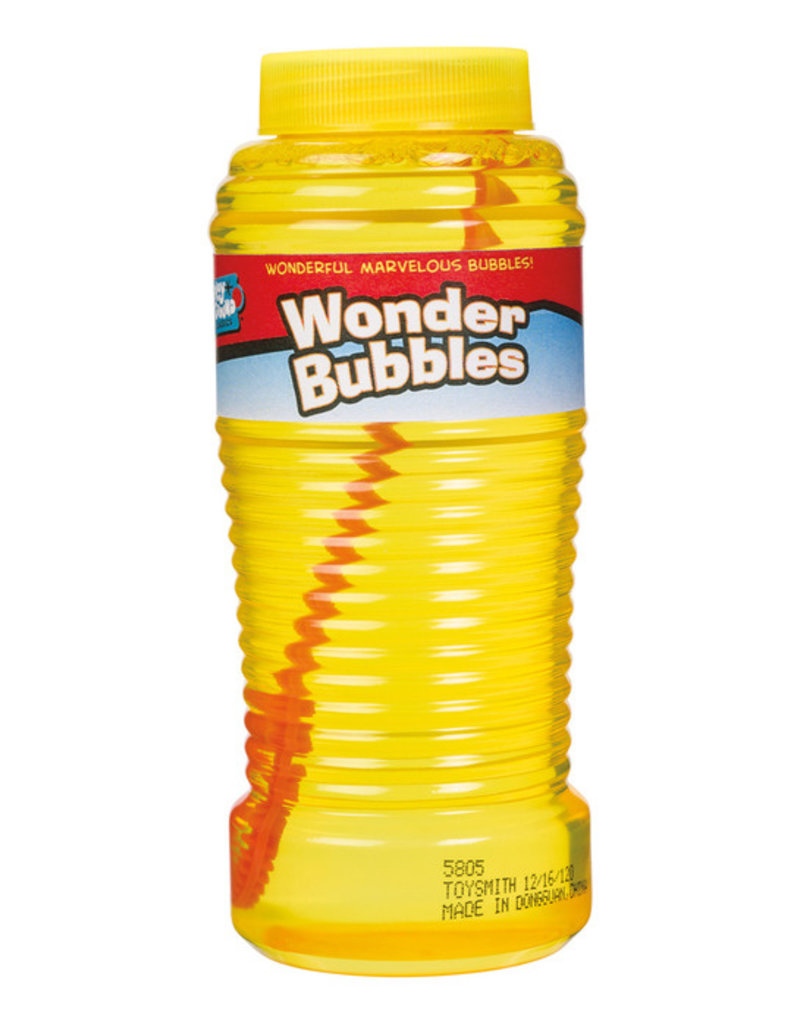 TOYSMITH Wonder Bubbles 8 Oz